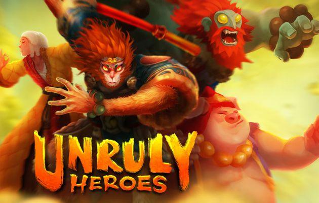[TEST VIDEO] UNRULY HEROES XBOX ONE X : Un magnifique plateformer qui bastonne!
