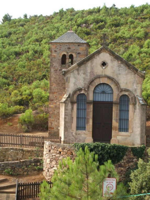 visite à l'ermite de Saint Siméon.