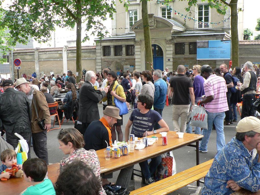 Samedi 15 juin 2013: le vide-grenier des Buttineries, Butte Ste Anne, Nantes