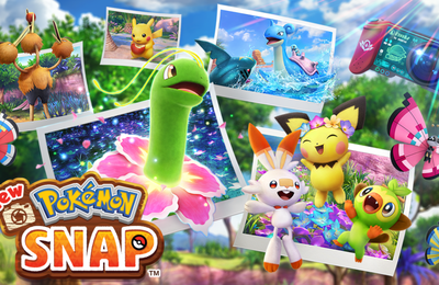New Pokémon Snap disponible sur Nintendo Switch à partir du 30 avril.
