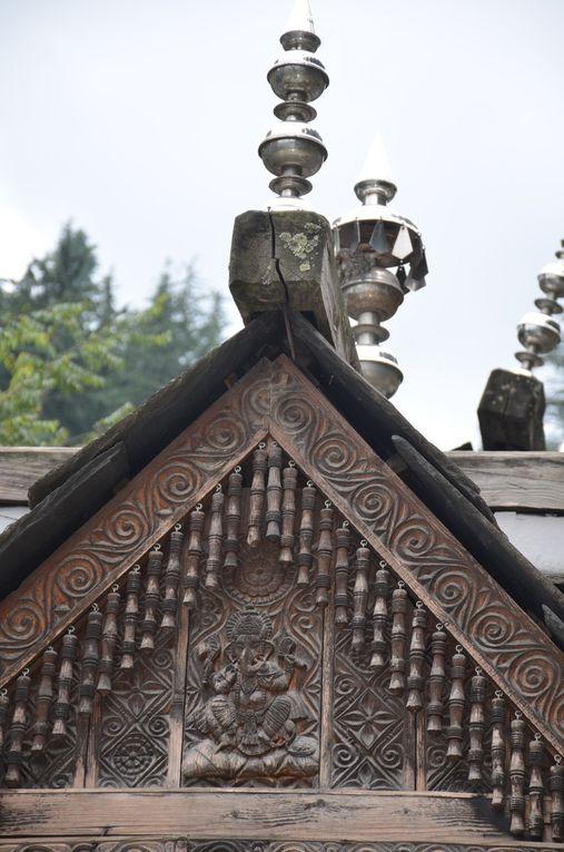 Le temple de Dhungri