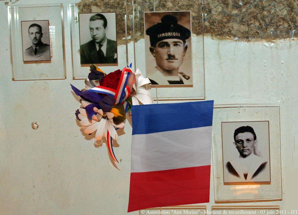 Cérémonie à la mémoire de Daniel Bourdon, Pierre Colcanap et Bernard Maitre