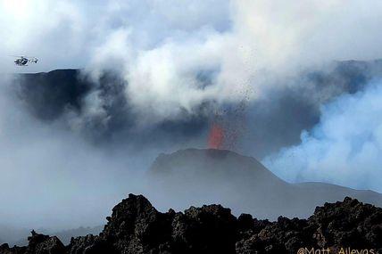 Sauvetage réussie de la station sismologique par le PGHM.