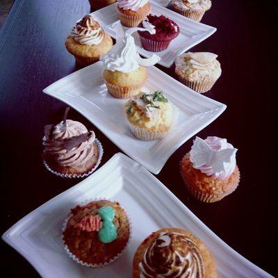Cupcakes...en veux-tu...en voilà