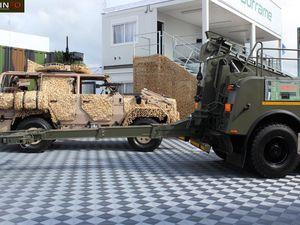 Camion lourd de dépannage SOFRAME HRV (photos Milinfo Eurosatory 2018)