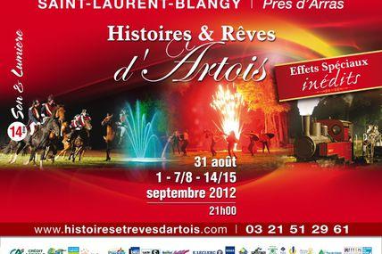 14e Son et Lumière Histoires et Rêves d'Artois à Saint-Laurent-Blangy