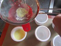 Petites crèmes aux oeufs à la verveine