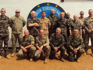 Un nouveau commandant pour la force de l'Union Européenne en République centrafricaine