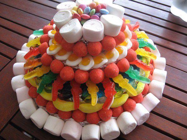 Nos gâteaux de bonbons !