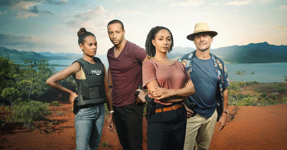 La nouvelle saison d'OPJ en tournage à La Réunion !