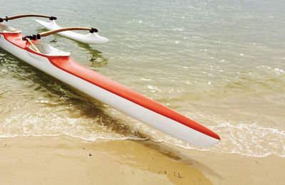 Vaa V3 Fai Vaa made in Tahiti : there is no stopping the Cap Ferret Outrigger!!!!!!! Youhou!!!!