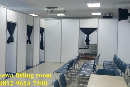 Jual Fitting room r8, sewa fitting room r8
