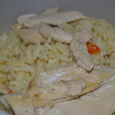 Poulet et riz express