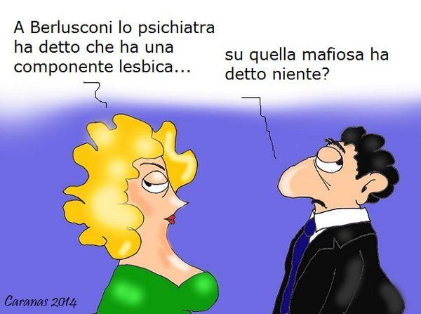 La componente lesbica di Berlusconi