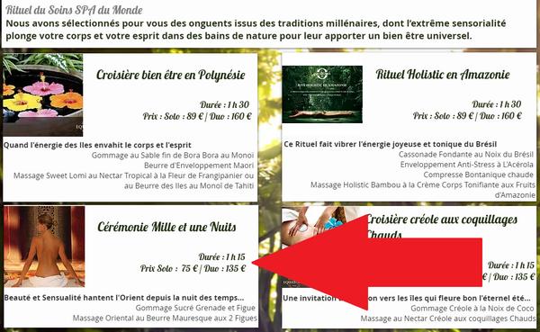 captures d'écran du site Loisirs Enchères - tous droits réservés