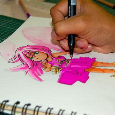Une journée manga au lycée (Saint-Jean-d'Angély 24.05.2012)