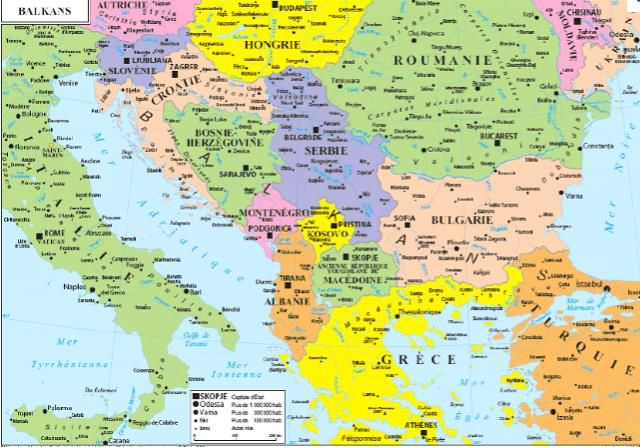 """"""" Le tourbillon balkanique"""" - Interview pour France Inter"""