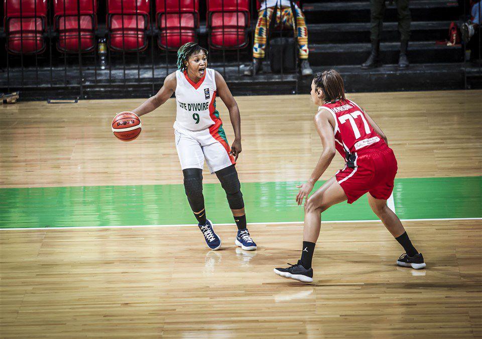 Revue d'équipe de FIBA Afrique pour l'AfroBasket women 2021 : la Côte d'Ivoire