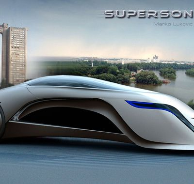 Supersonic : la voiture de 2021 par Marko Lukovic