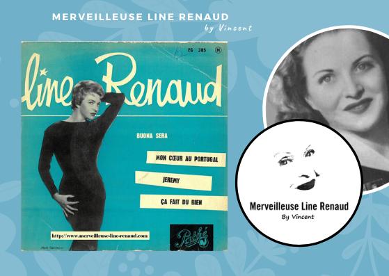 45 TOURS: 1958 Pathé - 45 EG 385 - Line Renaud Buona Sera