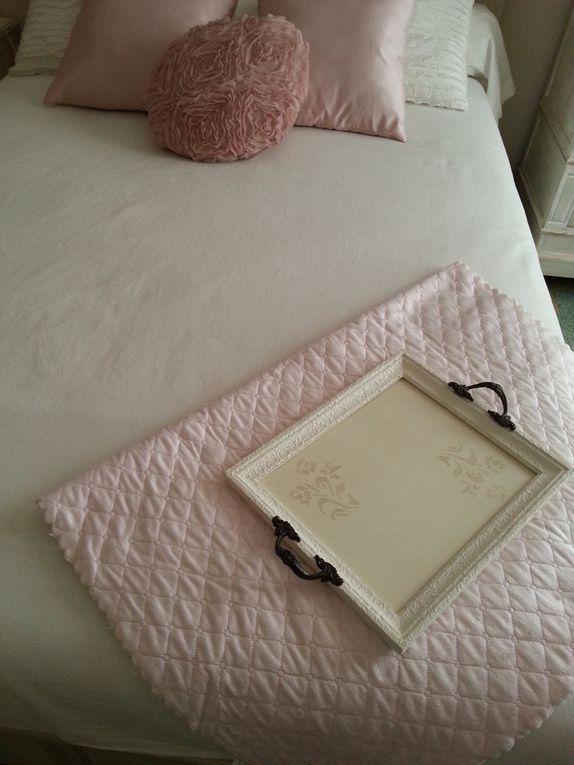 Ma chambre très romantique : quelques rares objets neufs, et beaucoup de trouvailles...