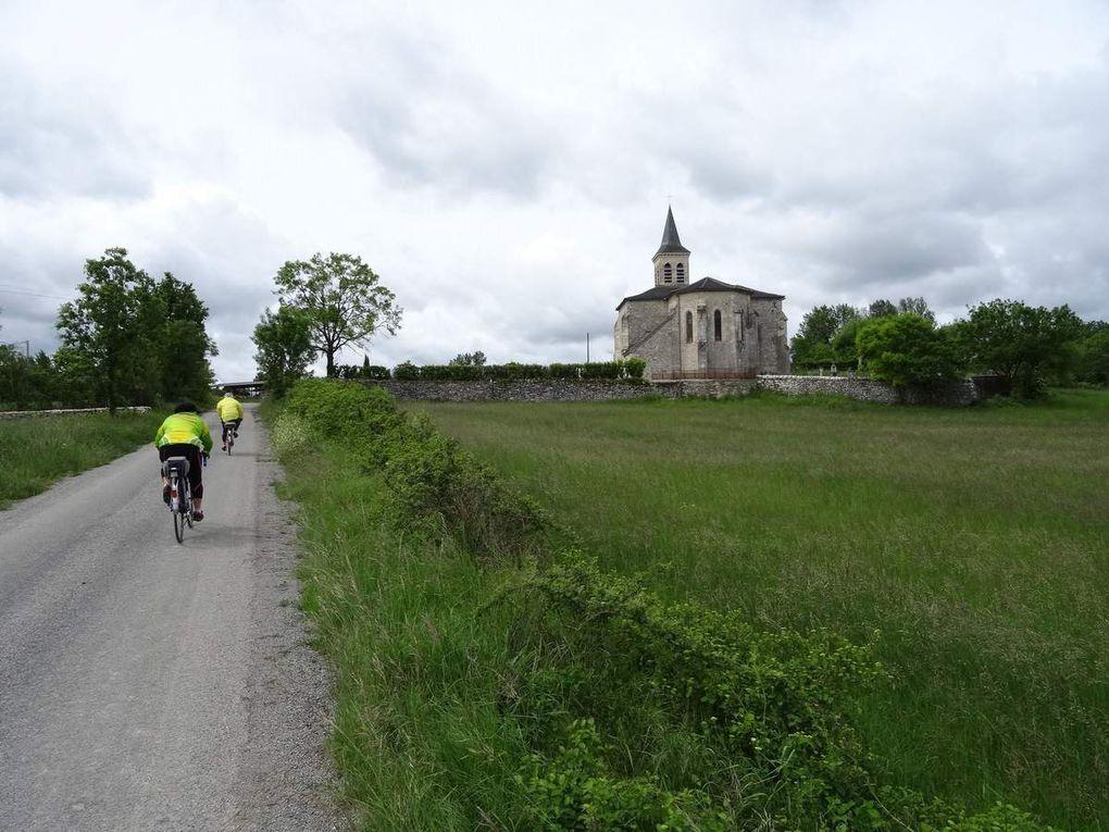 Randonnée Cyclotouriste dans le Quercy Blanc