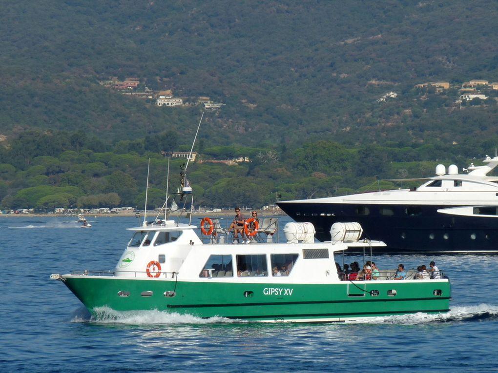 GIPSY  XV  , vedette passagers du port de Saint Tropez le 25 aout 2016