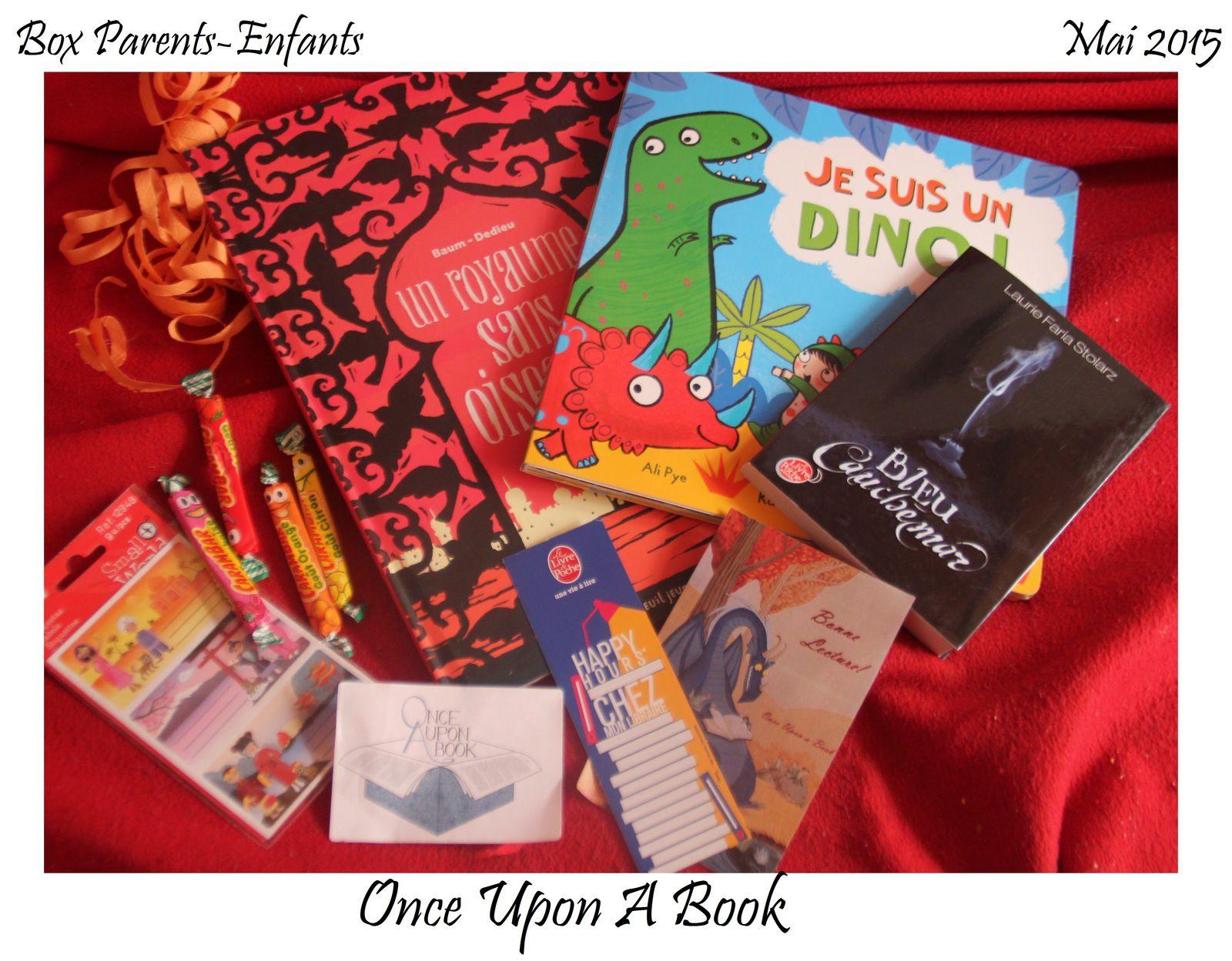 Box n°1 : Once Upon A Book, Box Parents-enfants mai 2015