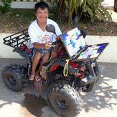Vu en Thaïlande (18-10) - Noy et Gilbert en Thaïlande
