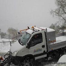 St Julien du Verdon : le Camion 4x4 , essai réussi