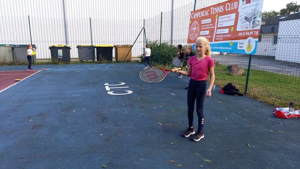 Tennis avec Xavier