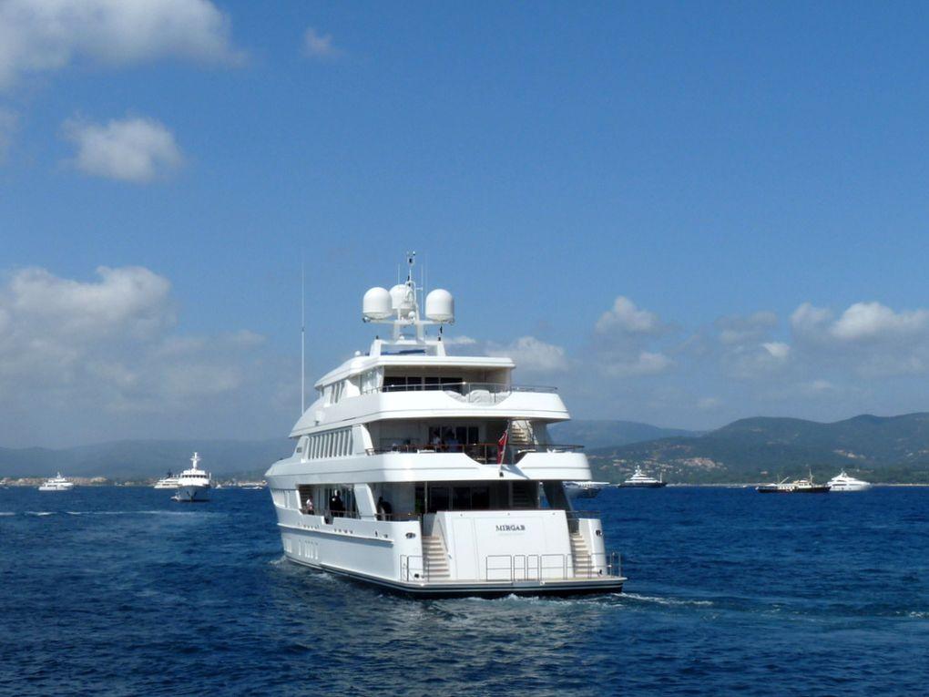 MIRGAB , appareillant du port de Saint Tropez le 29 juillet 2017