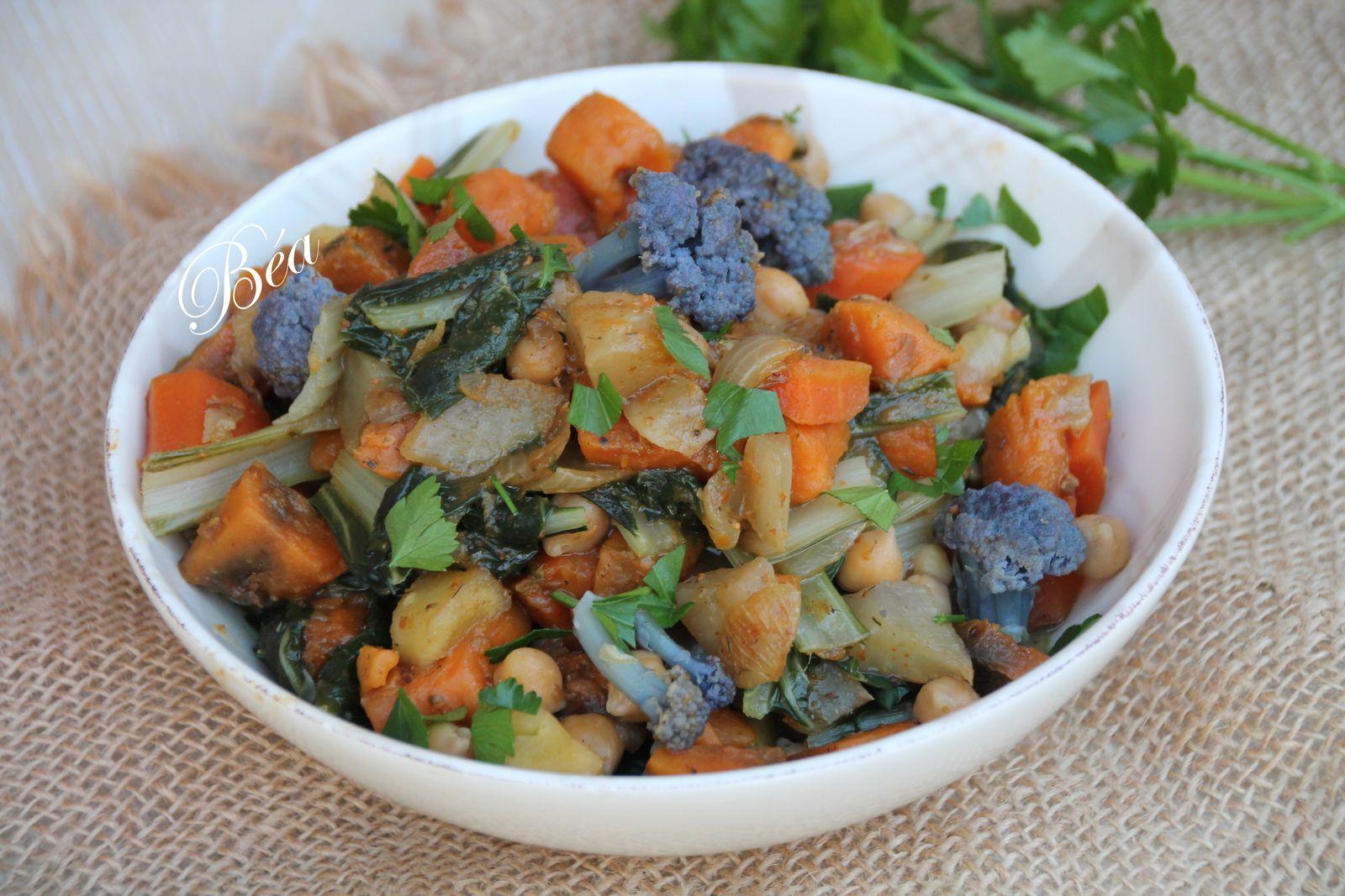 Ma poêlée de légumes d'automne