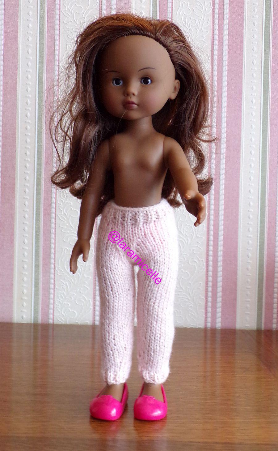 tuto gratuit poupée : leggings