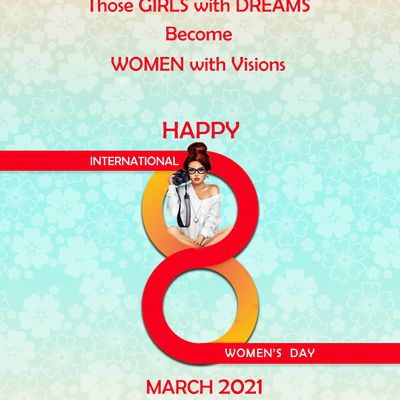 """Magic Touch Wishes all the ladies """"a very happy Women's Day 2021"""""""
