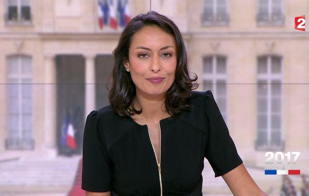📸19 LEILA KADDOUR @Leilakan ce soir pour LE 20H WEEK-END @France2tv #vuesalatele