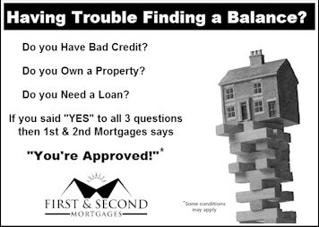 Select the Best Financer for Easy and Low Interest First and Second Hand Mortgages