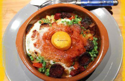 Huevos a la flamanca / oeufs à la flamenca
