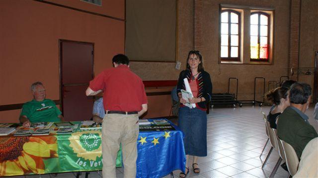 Festa de l'Europa a Lavaur - Europa Ecologia - Debat e baleti dab la talvèra