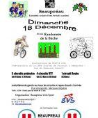 10eme Randonnee de la Buche, BEAUPREAU (Sortie VTT du 18/12/2016 / Ref. : 45598)