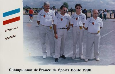 1990 Championnat de France BORDEAUX