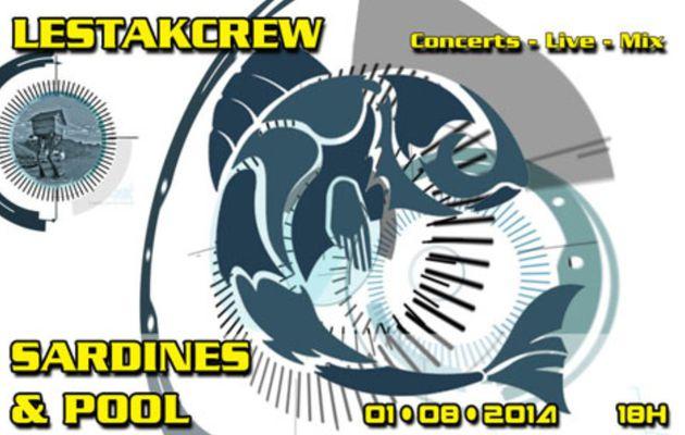 Sardines & Pool à L'Estakcrew !!!