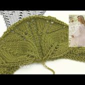 How to begin the shawl in DROPS 169-29