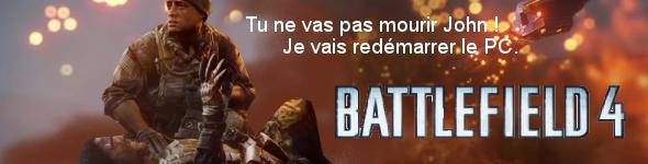 Plantages à répétitions pour Battlefield 4.