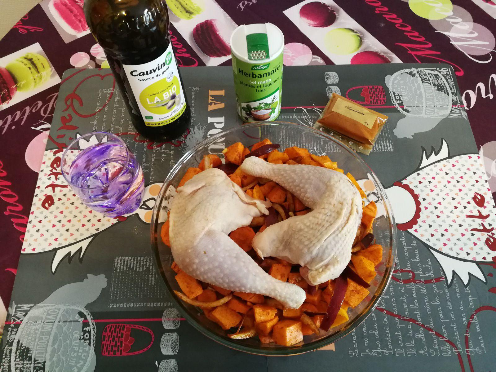 Version avec du butternut, de la patate douce & de la carotte