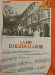 La fin du Bateau-Lavoir