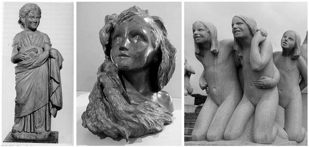 sculpture lectoure enfant enfance anne-laure pérès