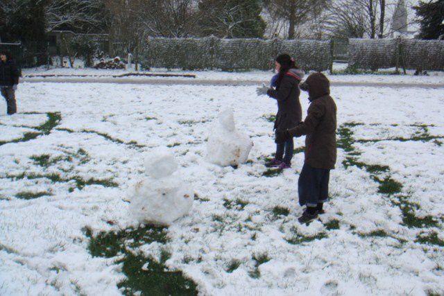 Album - Jour de neige à l'école