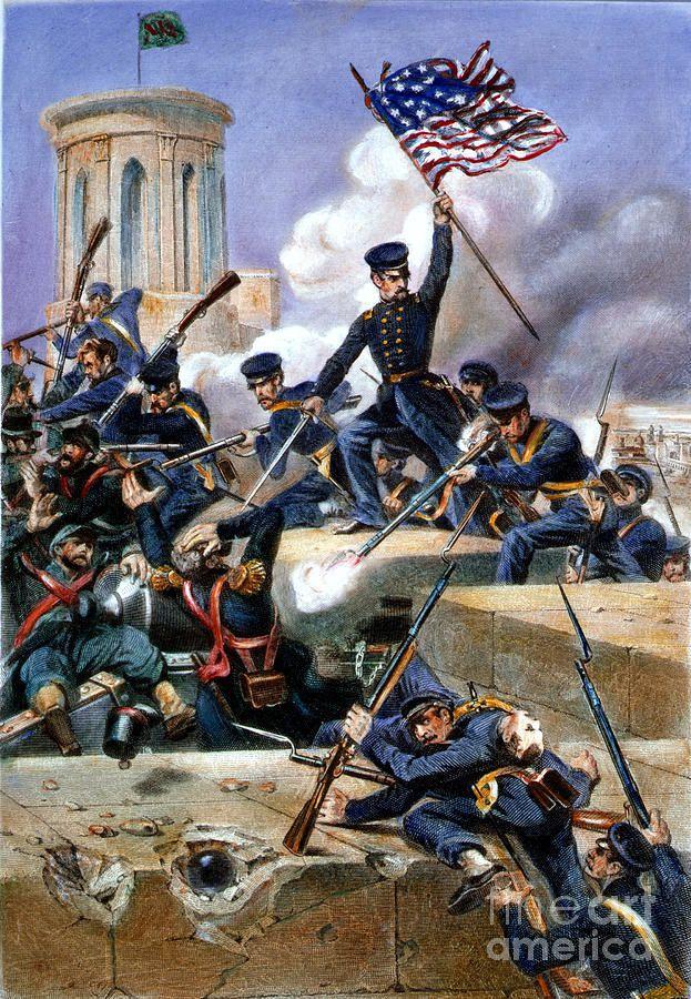 La bataille de Chapultepec 12 et 13 septembre 1847