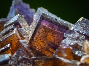 Fluorite with Sphalerite from Denton Mine, Illinois, USA (size: small cabinet)